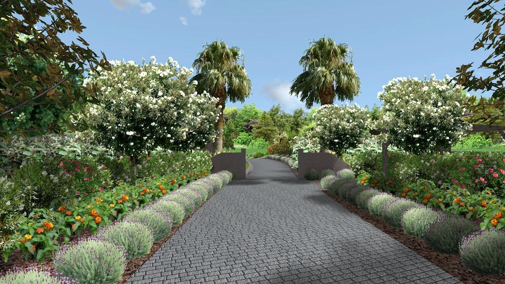 GUIA: GARDEN LANDSCAPING 3D DESIGN