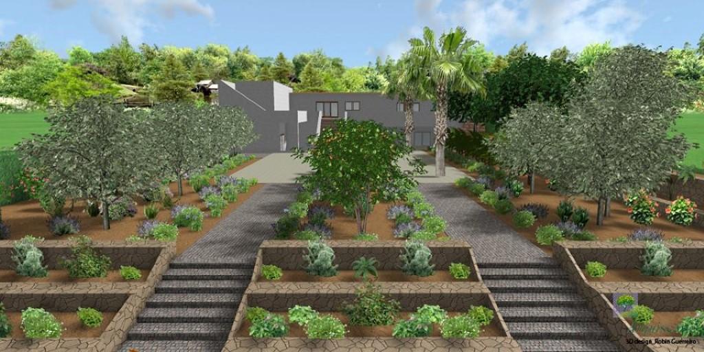 Stª Bárbara Landscape Garden Design U0026 Construction U2013 COMPLETED